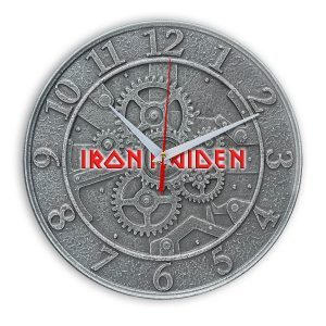 Iron maiden настенные часы 1