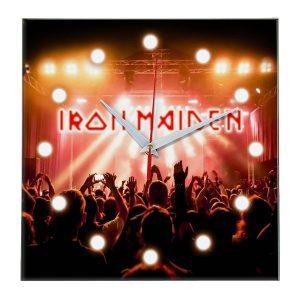Iron maiden настенные часы 13