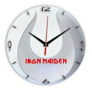 Iron maiden настенные часы 14