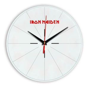 Iron maiden настенные часы 15