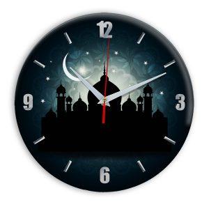 мусульманские часы настенные Ислам Islam007