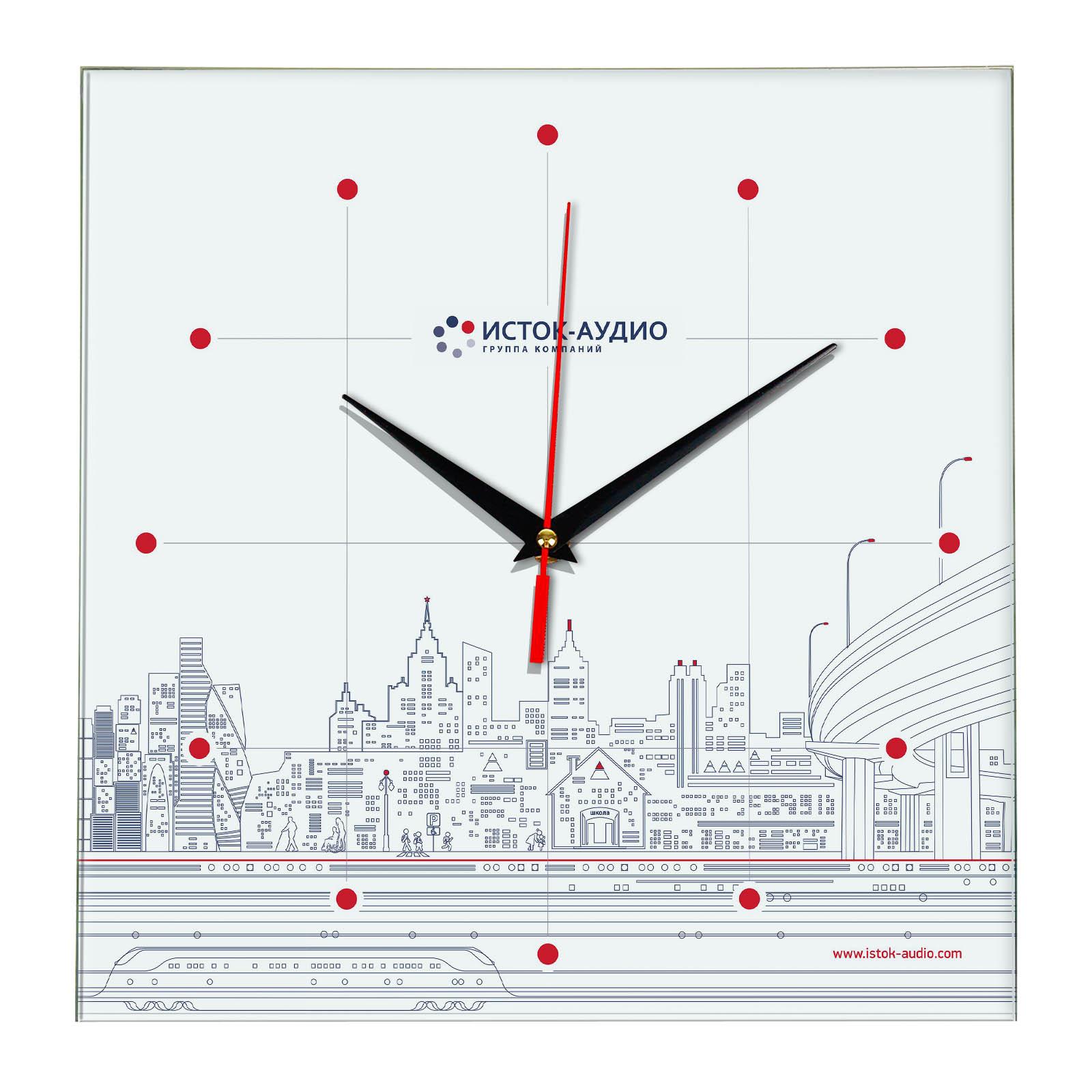 Настенные часы «istok-sten»