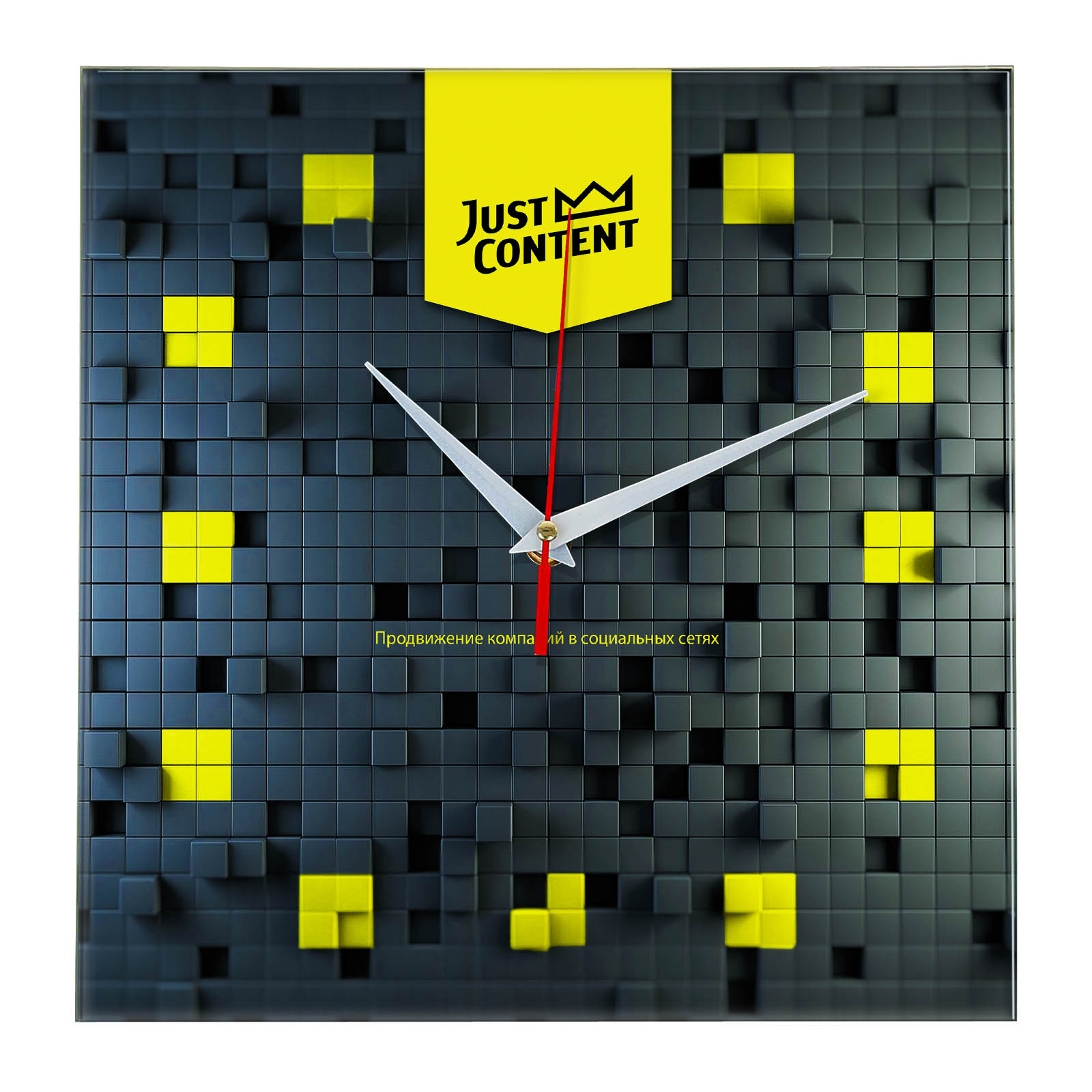 Настенные часы «just_content»