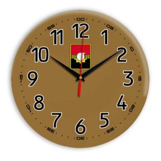 Интерьерные часы — герб Кемерово 11