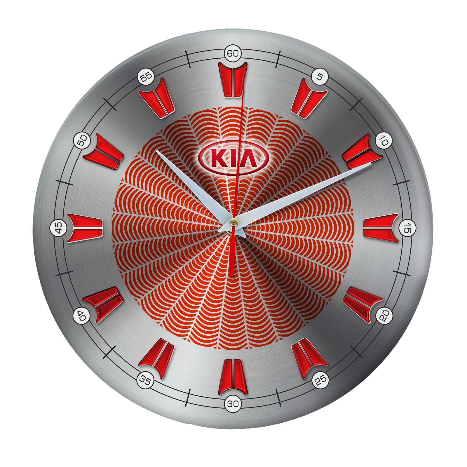 Настенные часы «kia sport»