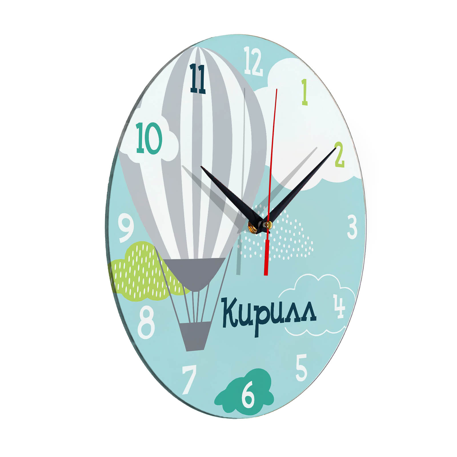 Часы картинки с надписью