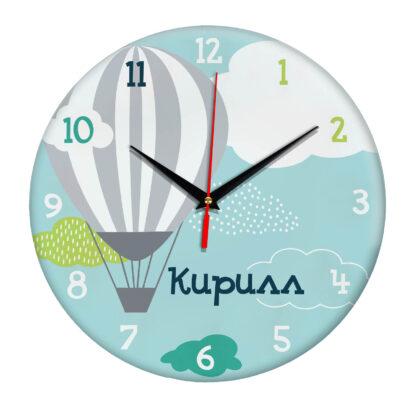 Подарок именной — Настенные часы с именем Кирилл