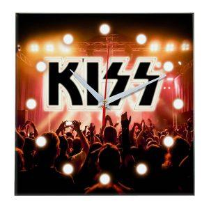 Kiss настенные часы 13