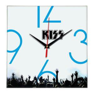 Kiss настенные часы 8