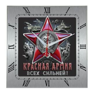 Сувенир – часы krasnaya armiya 01