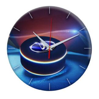 часы из закаленного стекла Шайба с логотипом Lada Togliatti 02