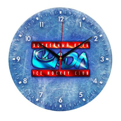 Настенные часы — На льду эмблема Lada Togliatti 2 04