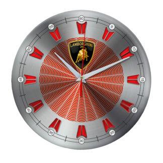 настенные часы с символом Lamborghini 09