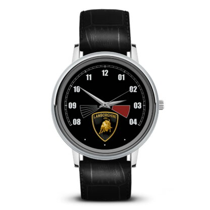 спидометр Lamborghini наручные часы с символикой