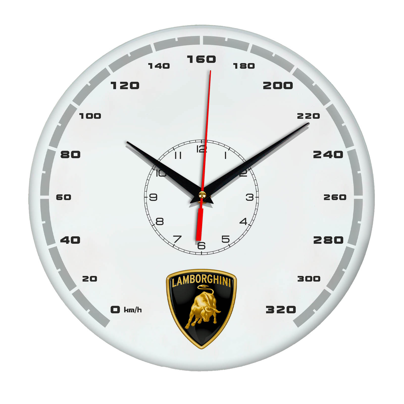 Настенные часы «lamborghini 37»