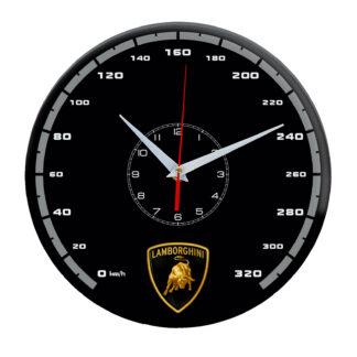 Настенные часы «lamborghini black»