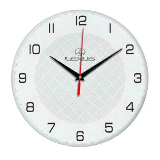 Настенные часы с символикой Lexus 04