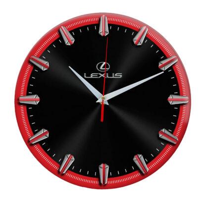 Настенные часы с рисками Lexus 06
