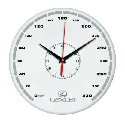 часы со спидометром 320 км ч Lexus 14