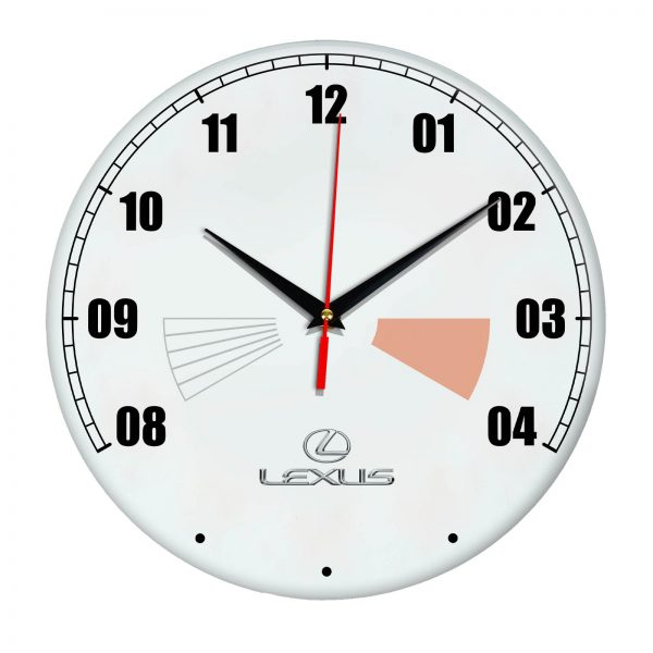 Сувенир – часы Lexus 17