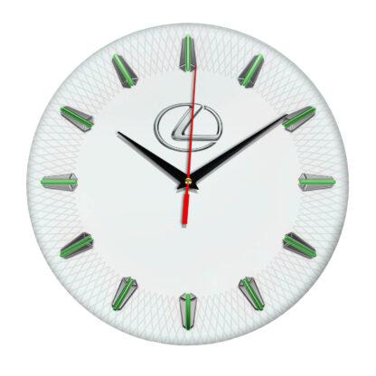 Настенные часы с эмблемой Lexus 5 07