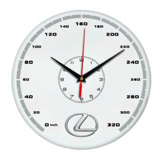 часы со спидометром 320 км ч Lexus 5 14
