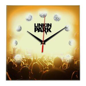 Linkin park настенные часы 12