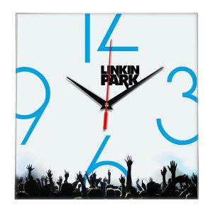 Linkin park настенные часы 8