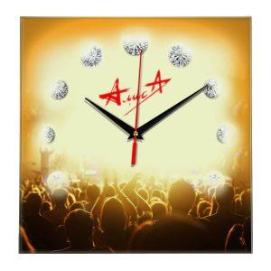 Logo alisa настенные часы 12