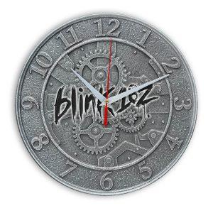 Logo blink 182 настенные часы 1