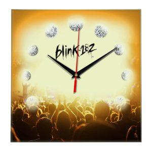Logo blink 182 настенные часы 12