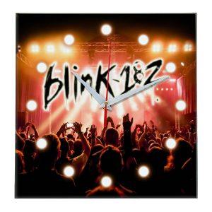 Logo blink 182 настенные часы 13