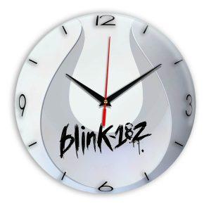 Logo blink 182 настенные часы 14