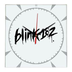 Logo blink 182 настенные часы 2