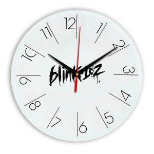Logo blink 182 настенные часы 6