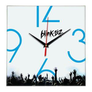 Logo blink 182 настенные часы 8