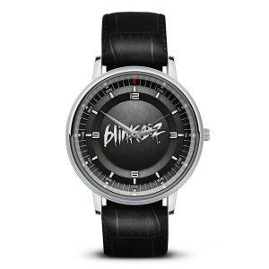 Logo blink 182 наручные часы 5
