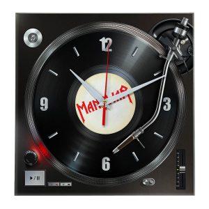 Logo manowar настенные часы 7