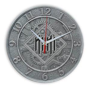 Logo marilyn manson настенные часы 1