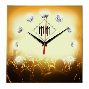 Logo marilyn manson настенные часы 12