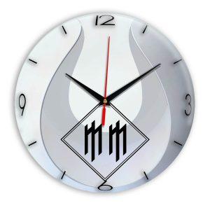 Logo marilyn manson настенные часы 14