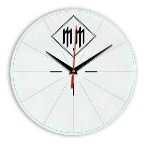 Logo marilyn manson настенные часы 15