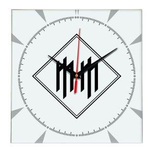 Logo marilyn manson настенные часы 2