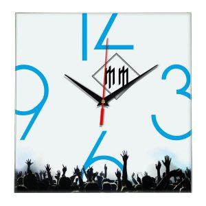 Logo marilyn manson настенные часы 8