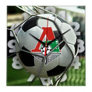 Настенные часы «С логотипом Локомотив Москва»