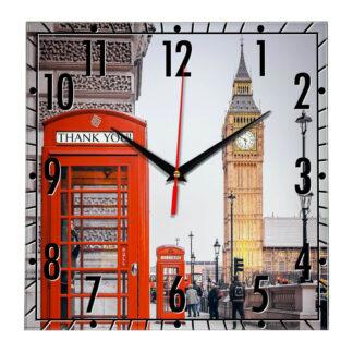 Настенные часы «Очарование Лондона»