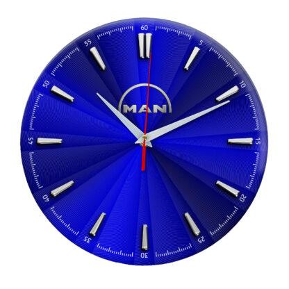 часы с автомобилем MAN 12
