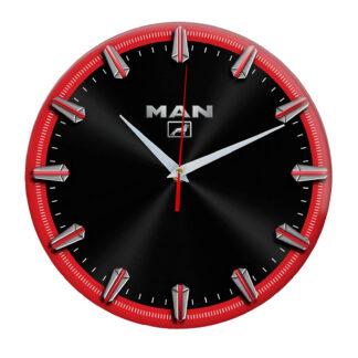 Настенные часы с рисками MAN 3 06