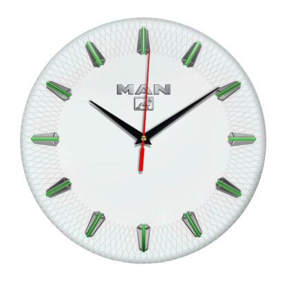 Настенные часы с эмблемой MAN 3 07