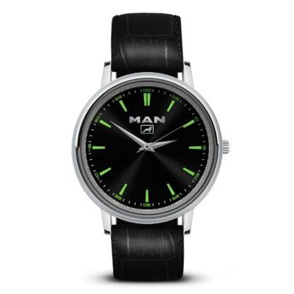 MAN 3 наручные часы с логотипом мужские
